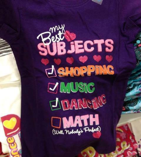 The Children's Place sexist shirt